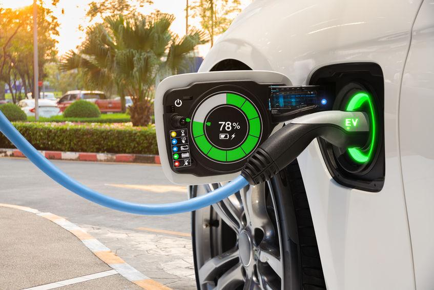 Charging Vehicle in Sacramento