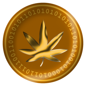 Increase in crypto-currency around Cannabis market climbing.